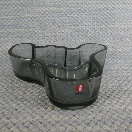 Aalto malja 136 mm, harmaa