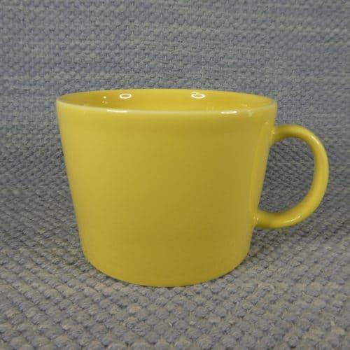 Teema muki, keltainen