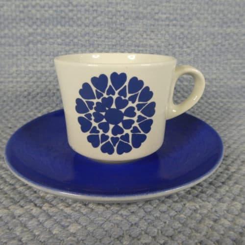 Hertta kahvikuppi sininen