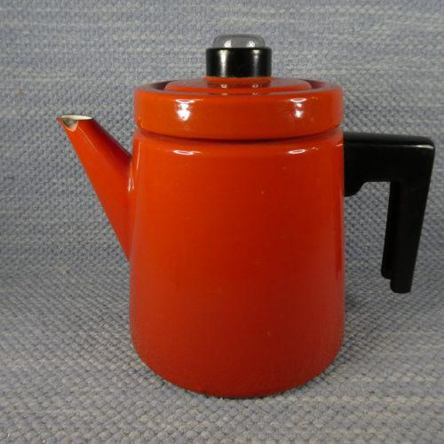 Punainen Pehtoori kahvipannu