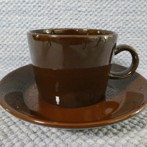 Ruskea Teema kahvikuppi
